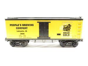 MTH 30-78212 Boiler Gold Beer 19th Century Reefer Car NIB