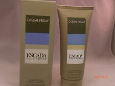 ESCADA POUR HOMME CASUAL FRIDAY 6.8 oz / 200 ml ALL OVER SHAMPOO MEN NEW IN BOX