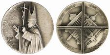 MEDAGLIA PAPA PAOLO VI° ANNO GIUBILARE 1975 Basiliche Roma opus Perelli #MDS246