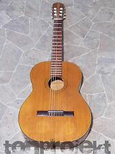 vintage TELLER style 4/4 Konzertgitarre Klassik Gitarre vollmassiv Germany 1970`