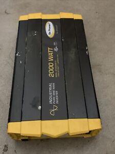 Go Power! GP-ISW2000-12 Industrial Pure Sine Wave Inverter - 2000 Watt / 12V