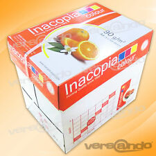 2500 Blatt Marke Inacopia elite color 90 A4 Kopierpapier Premium HP-Laser-papier