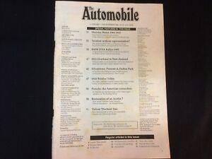 The Automobile Magazine - Nov 1992 - Austin Overland Bentley Shelsley Walsh