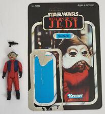 Vintage Kenner Star Wars Nien Numb figure with ROTJ backer card Complete