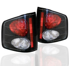 1994-2004 CHEVY S10 GMC SONOMA/1996-2000 HOMBRE PICKUP TAIL LIGHT LAMP BLACK L+R
