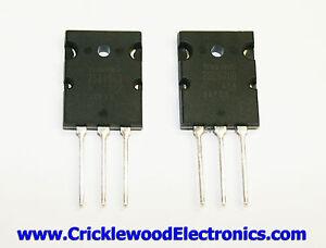 2SC5200 and/or 2SA1943 Genuine Original Toshiba Audio Power Transistors