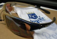 MLB Kansas City Royals Maxx HD Sunglasses - Blue/Gold Scorpion Style with Bag