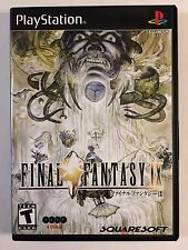 Final Fantasy IX - Playstation - Replacement Case - No Game
