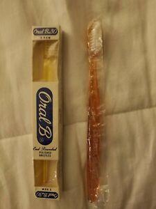 Vintage Oral-B 30 &  free non oral b Vintage Straight Shaft Toothbrushes New