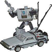 Transformers Back to the Future 35th Anniversary Gigawatt DeLorean Time Machine