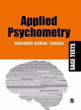 Applied Psychometry (Sage Texts) by Chadha, Narender Kumar