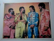 Beatles Poster  sgt peppers