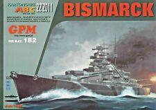 Battleship Bismarck  1:200 scale model kit (with lasercut frame set)  2100 parts