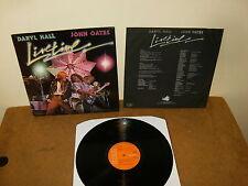 DARYLL HALL & JOHN OATES : LIVE TIME - HOLLAND LP + INNER - RCA PL 12802 - 1978