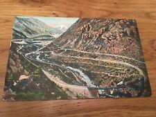1908 Georgetown Colorado The Georgetown Loop Postcard