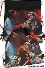 "NEW DISNEY STAR WARS ""7"" ONE (1) NON-WOVEN SLING BAG BACK PACK TODDLER"