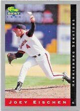 Joey Eischen Harrisburg Senators P 1993 Classic Best # 134 -10 years MLB Time