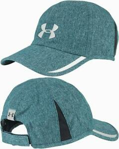 NEW! Under Armour Mens Shadow ArmourVent Reflective Adjustable Cap-Green