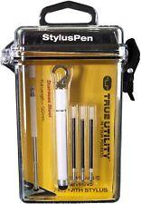 True Utility Kugelschreiber Stylus Pen Weiß TU257White Schlüsselanhänger *Neu*