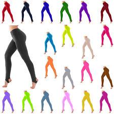 KSL Kids Girls Stirrup Leggings Shiny Nylon/Lycra Ballet Gymnastics Ballet