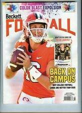 NEW CURRENT BECKETT FOOTBALL PRICE GUIDE MAGAZINE, OCTOBER 2020, TREVOR LAWRENCE