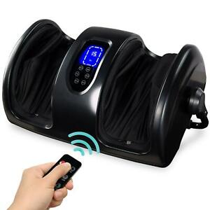 Reflexology Shiatsu Foot Massager With High-Intensity Rollers And Remote Control