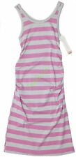 Liz Lange Maternity Striped Tank Dress Gray and Purple XS S M L XL 2xl Regular 2xl