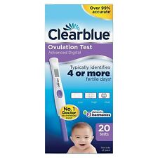 20 X Clearblue Digital Ovulation Test avec Double 2x Fertilité Hormone