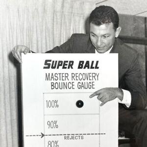 Original 1965 Wham-O Perpetual Motion Super Rubber Ball Press Kit Photo Release