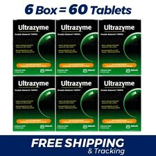 6 Box = 60 ULTRAZYME Protein Remover Tablets Contact Lense Cleaner Abbott