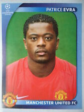 Panini 13 Patrice Evra Manchester United UEFA CL 2008/09