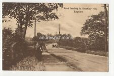 Road Leading To Brockley Hill Edgware 1918 Postcard A&C Coomber Middlesex