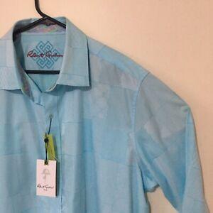 Robert Graham 2XL Classic Fit Wallie Sport Designer Shirt Brand new with tags
