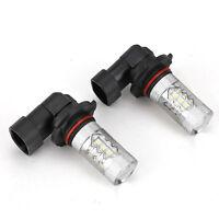 2pcs 3030 SMD LED 9005 HB3 Faros Lámpara De Luz Niebla Bombillas 6000K Blanco