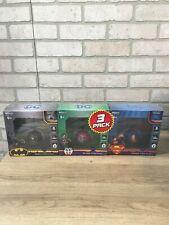 World Tech Toys DC Comics 3 PACK Flying UFO BALL Batman/Superman/The Joker
