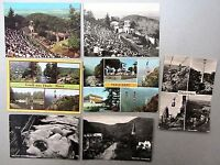 DDR Postkarten Lot von THALE Kreis Quedlinburg ua. Schwebebahn 7 AK gelaufen