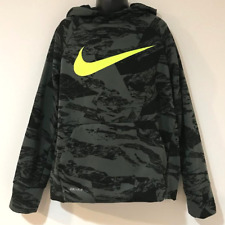 NIKE BOYS SIZE SMALL (8) PULLOVER HOODIE SWEATSHIRT THERMA-FIT 856140 372 NWT