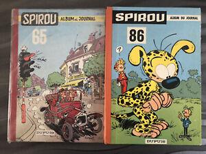 Lot De 14 Albums Du Journal De Spirou (1960/1980)