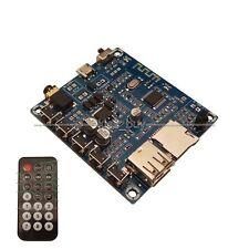 Bluetooth audio receiver board U disk USB TF card MP3 player FM radio + remote