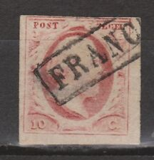 NVPH Nederland nr 2l used gestempeld 1852 1e emissie Willem III