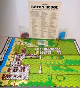 Strategy & Tactics Mag w/Game S&T #133 Baton Rouge Street Fight 1862 - GAME ONLY