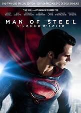 Man of Steel (2 DVD set, 2013)  w/Slipcover  Henry Cavill  Kevin Costner  NEW