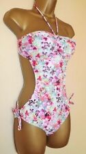 Bandeau Floral Swimwear Monokinis for Women