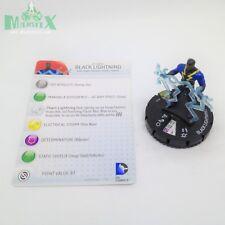 Heroclix Batman set Black Lightning #045 Super Rare figure w/card!