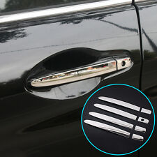 FIT FOR 2012-2015 HONDA CR-V CRV CIVIC CHROME DOOR HANDLE COVER TRIM MOLDING CAP