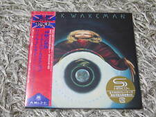 RICK WAKEMAN NO EARTHLY CONNECTION RARE OOP JAPAN MINI-LP SHM-CD