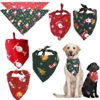 parure de forme triangulaire noël pet decor foulard collier de chien. cat.