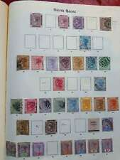 SIERRA LEONE 1872-1935 Early mint & used collection on - 12984