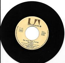 "45 TOURS / 7"" SINGLE--IKE AND TINA TURNER--NUTBUSH CITY LIMITS / HELP HIM--1972"