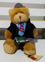 TEDDY BEAR COLLECTION PLUSH TOY ABOUT 19CM SEATED! SAM THE SCHOOLBOY SOFT TOY!